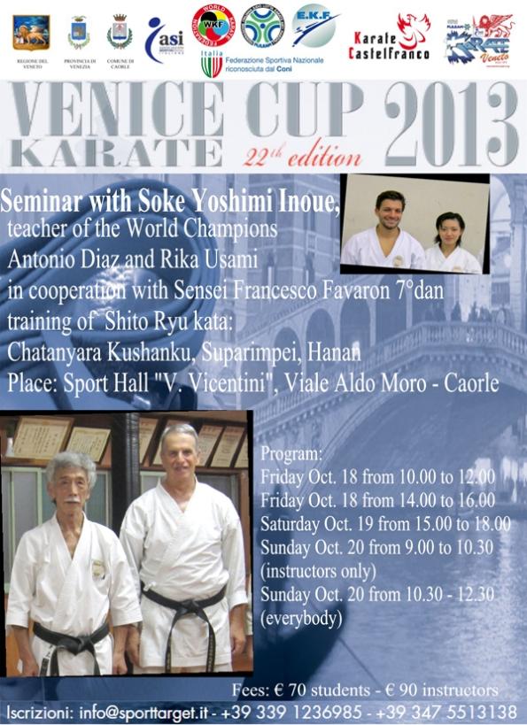 venice cup - seminar