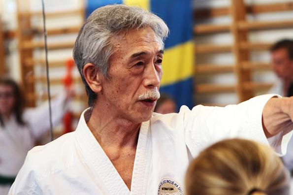 Seminarier med Soke Yoshimi Inoue på Karlstad karateförening.