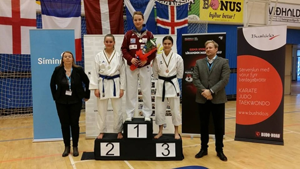Open kumite female