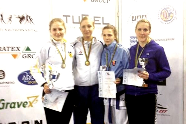 Female senior open kumite